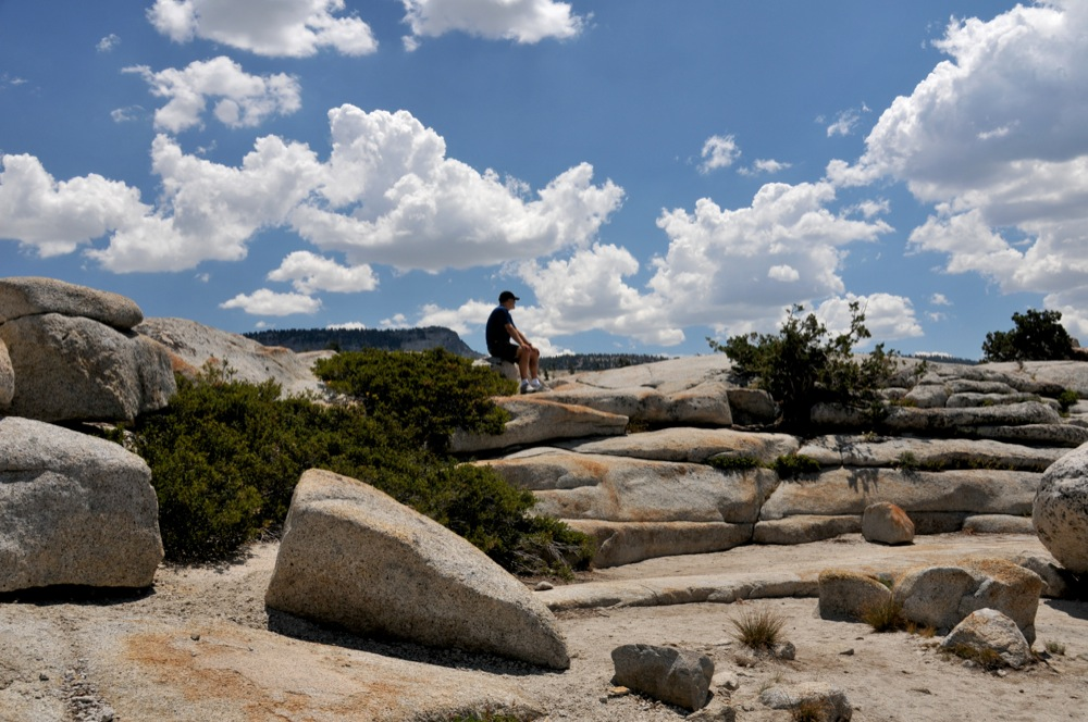 Taking It In, Olmstead Point, Yosemite