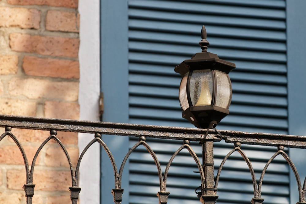 New Orleans Gas Lights Jane Lurie Photography