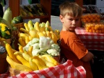 Boy and Vegetables, Austin