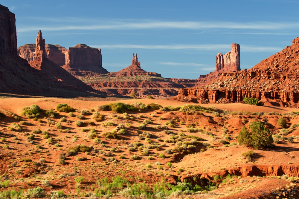 Mesas and Buttes, Monument Valley