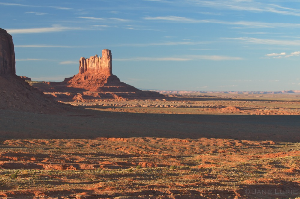 Sentinel Shadow and Butte