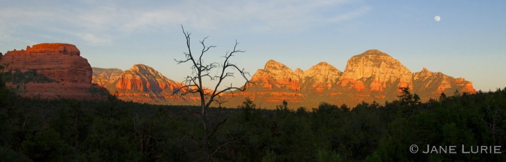Sunset and Rocks, Sedona, AZ