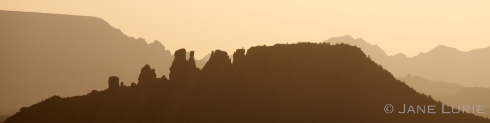 Sunset Silhouette, Sedona