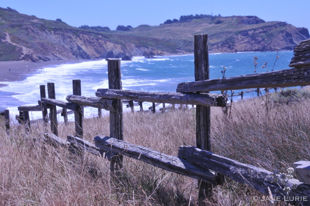 Fence and Surf, Marin, CA