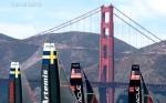 Golden Gate and Sails, San Francisco, CA
