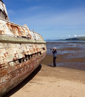 Shipwreck at Inverness