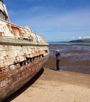 Shipwreck at Inverness