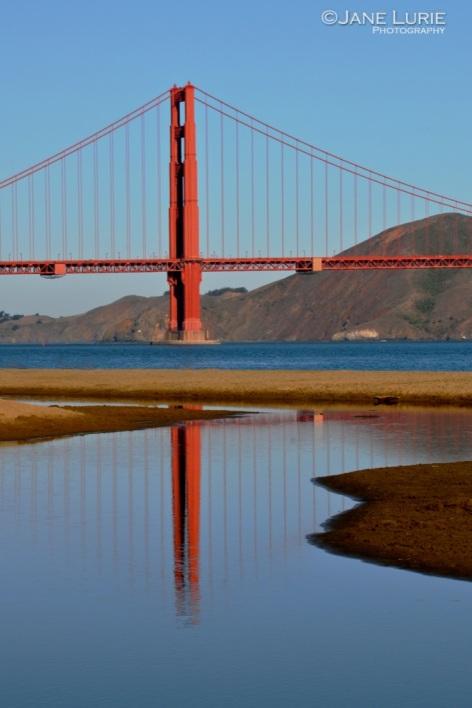 Reflections, Golden Gate Bridge