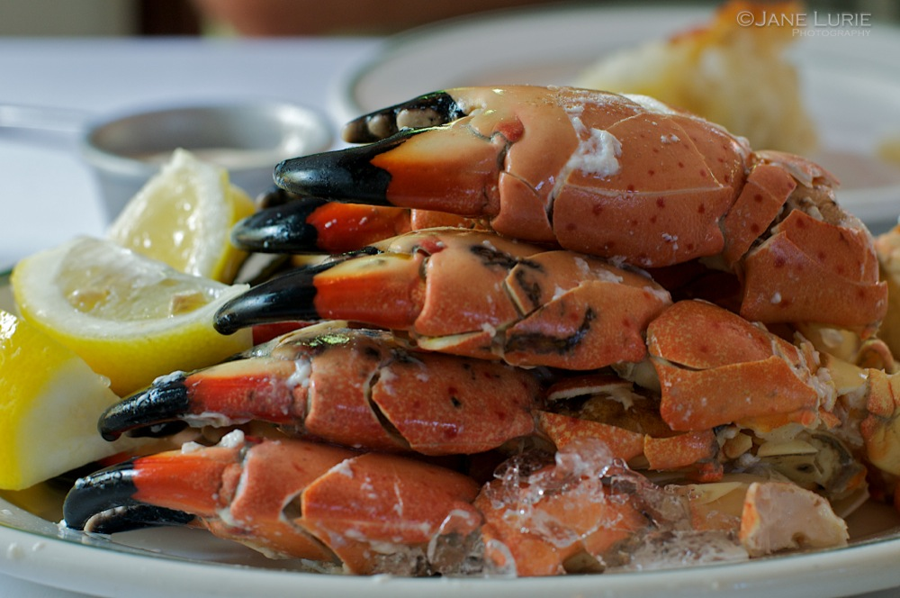 A Perfect Meal, Stone Crabs at Joe's