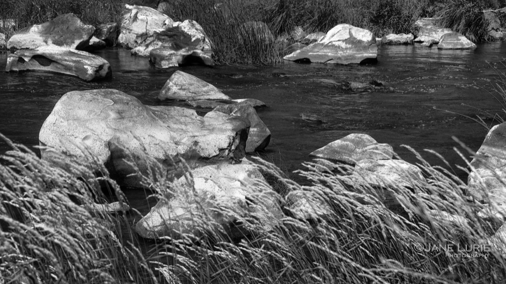 White Rocks and Stream, Bend, OR