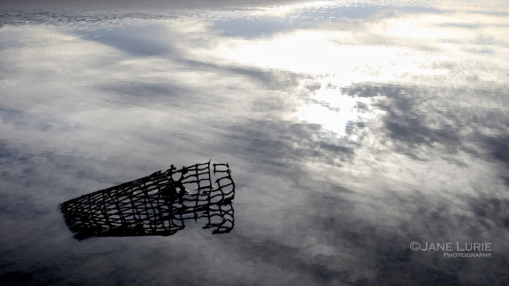 Crab Trap and Clouds, Kiawah