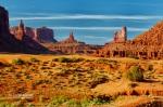 Sentinel's Shadow, Monument Valley, UT