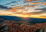 Sunrise and Hoodoos, Bryce Canyon, UT