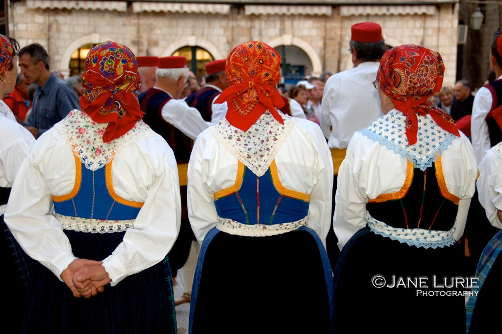 Three Dancers, Dubrovnik, Croatia
