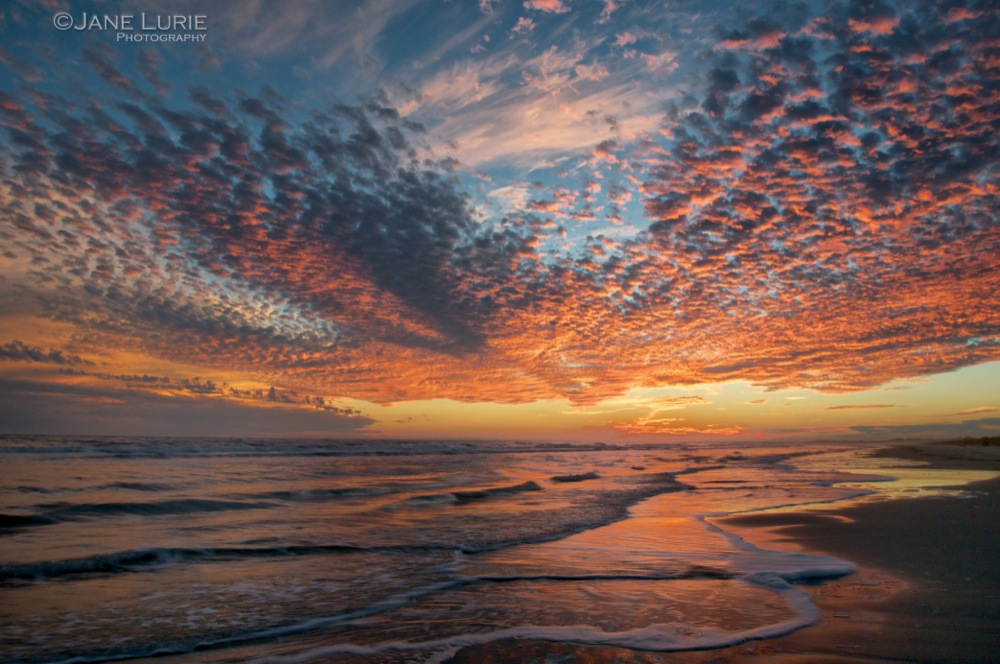 Winter Sky, Kiawah Island, SC