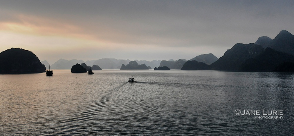Morning Peace, Halong Bay, Vietnam