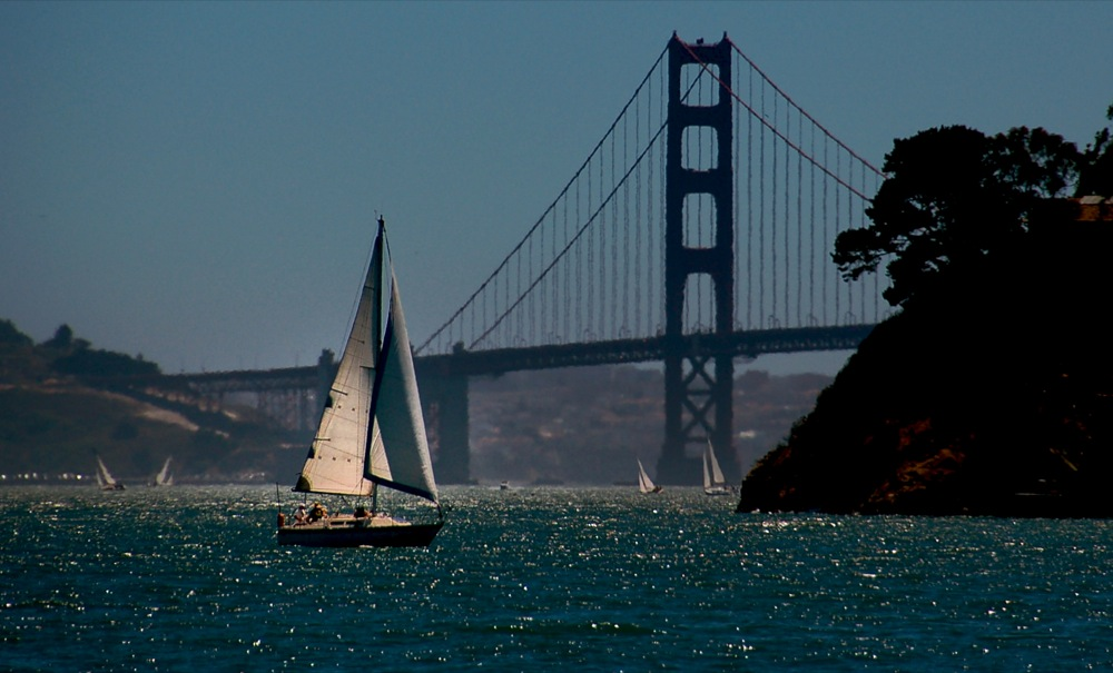 Sailing the Bay, San Francisco, CA