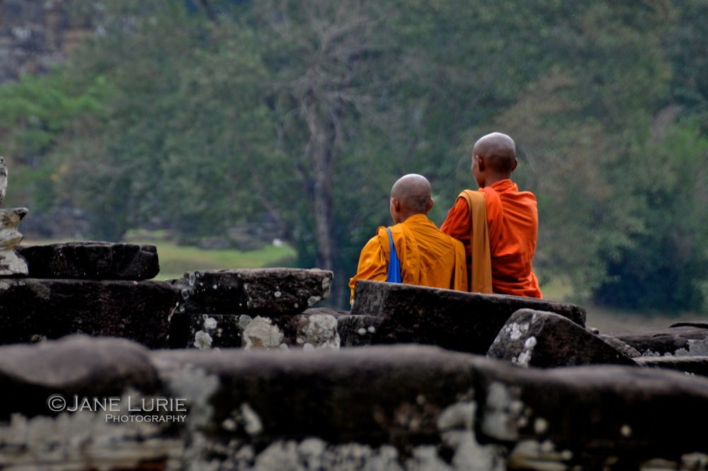 Contemplative Two, Siem Reap, Cambodia
