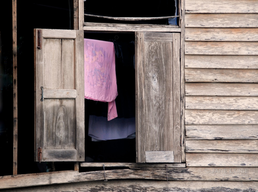 Pink Sheet and Shutters, Bangkok