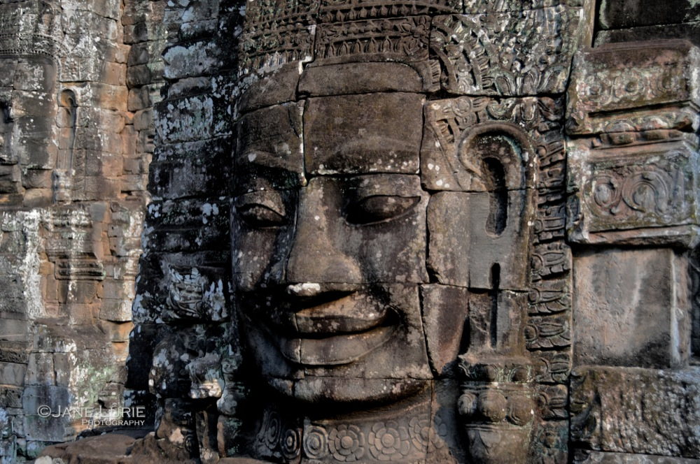 Beauty at Bayon, Cambodia