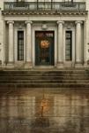 Mansion Door and Reflection, Savannah, GA