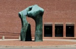 Henry Moore and IM Pei, Columbus, OH