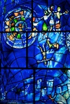Chagall Window, Art Institute of Chicago