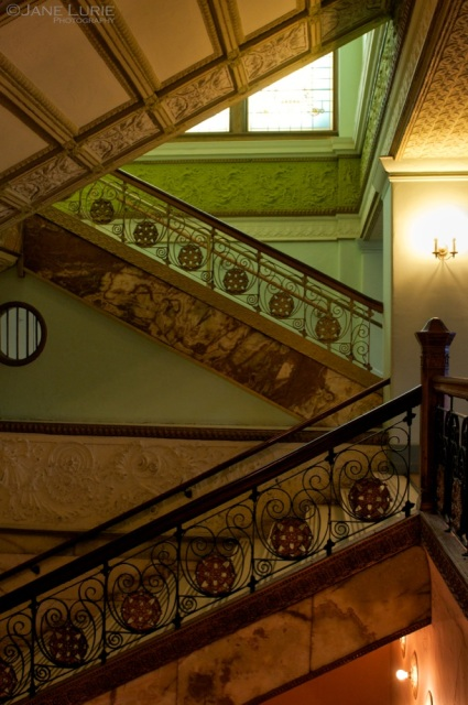 Louis Sullivan Stairs, The Auditorium Building