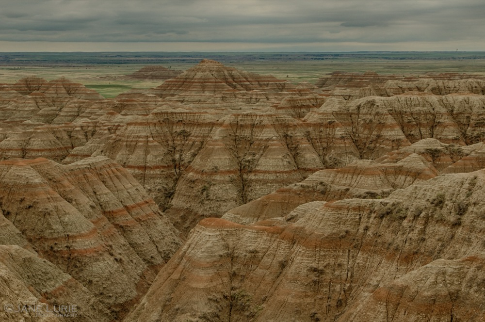 Layers, Badlands