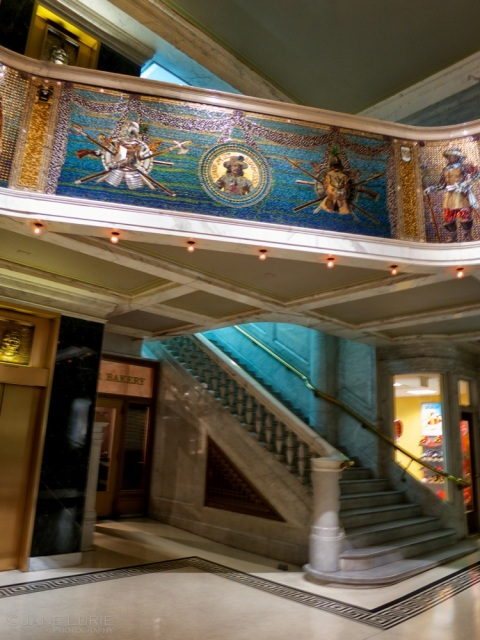 Lobby Stairs, The Marquette