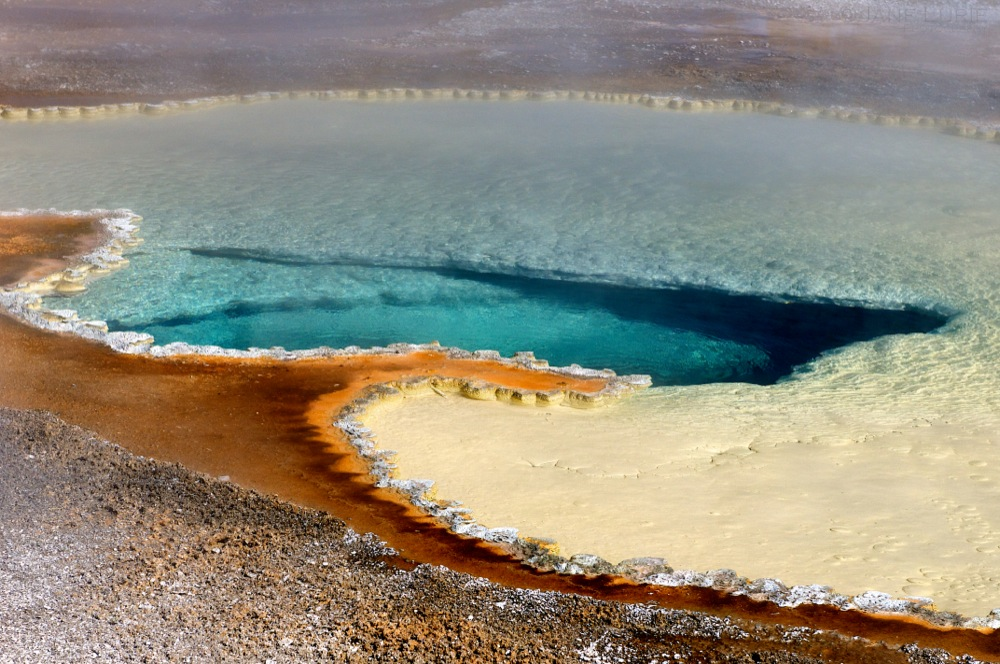 Thermal Blue, Yellowstone