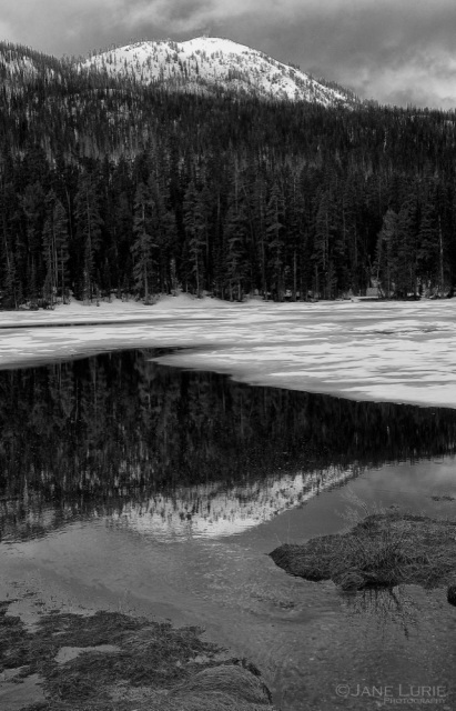 Dome Reflections, Yellowstone