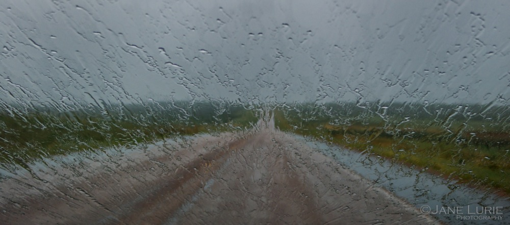 Driving Rain, South Dakota