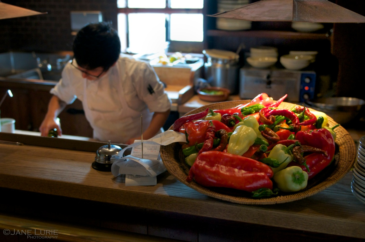Peppers and Prep, Chez Panisse