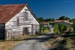 White Barn and Sonoma Sky