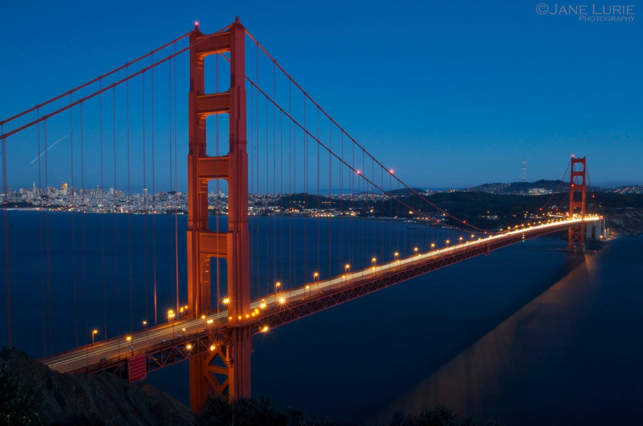 Blue Hour, Golden Gate Bridge, San Francisco