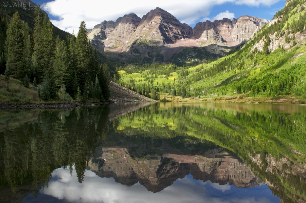 Maroon Bells Reflection, Aspen
