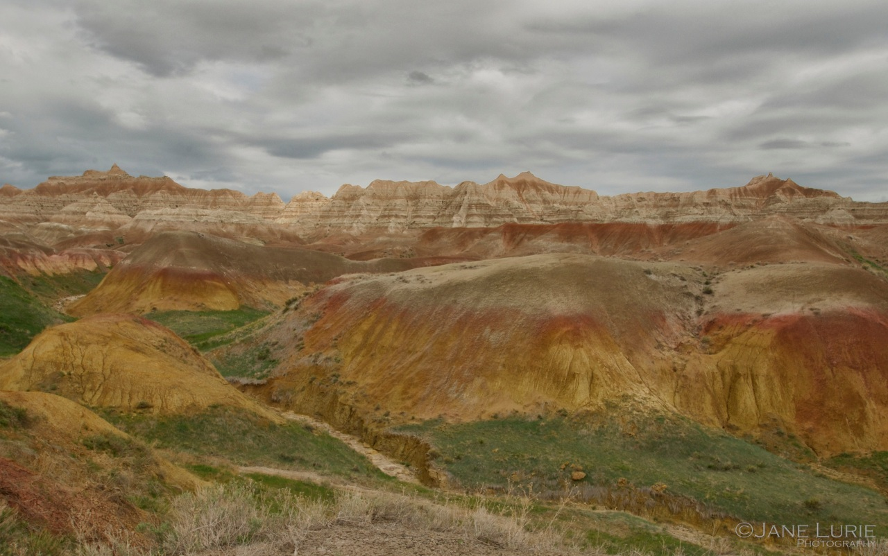 Yellow Mounds, Badlands