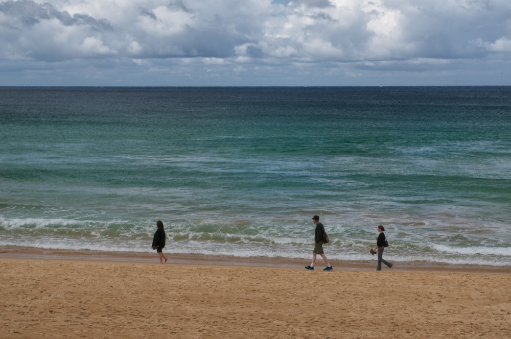 Beach Stroll, Manly