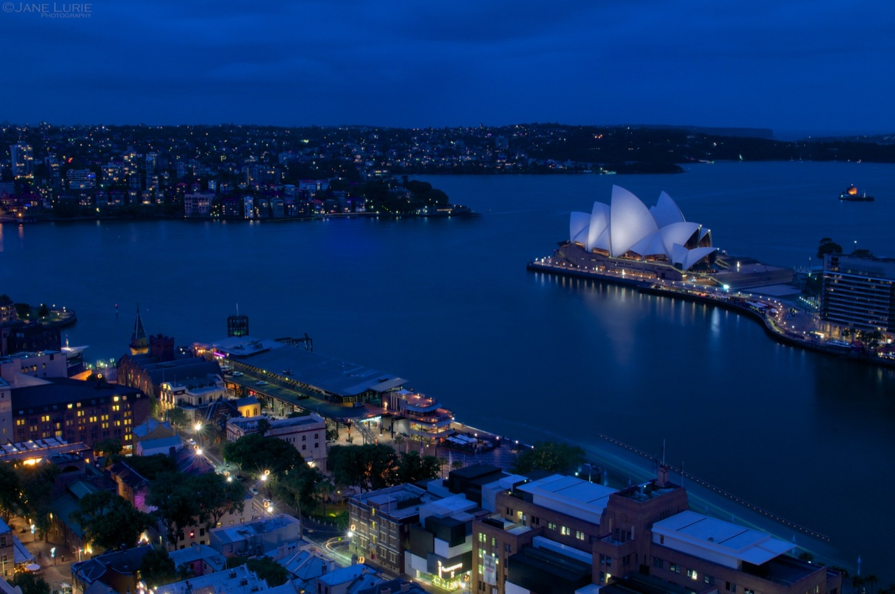Sydney Opera House, Blue Hour