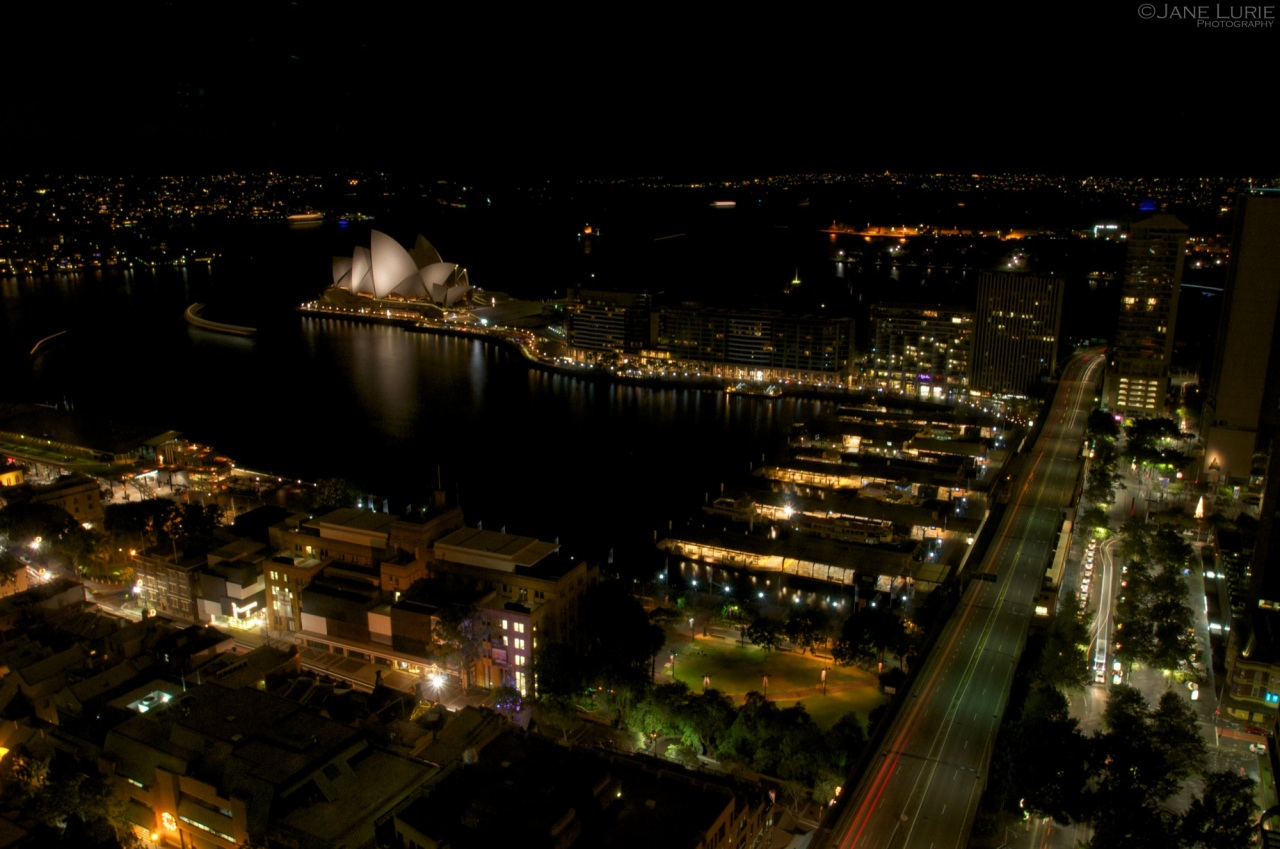 Circular Quay And The Opera House