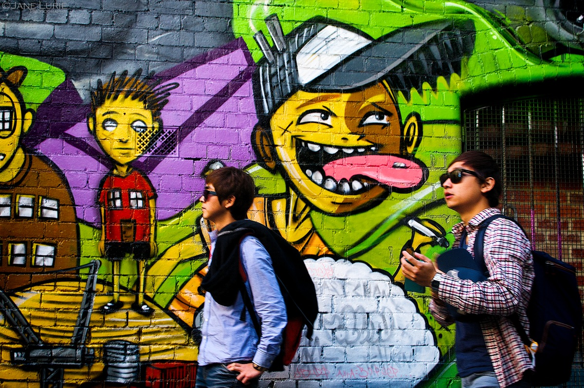 Lick in the Face, Melbourne