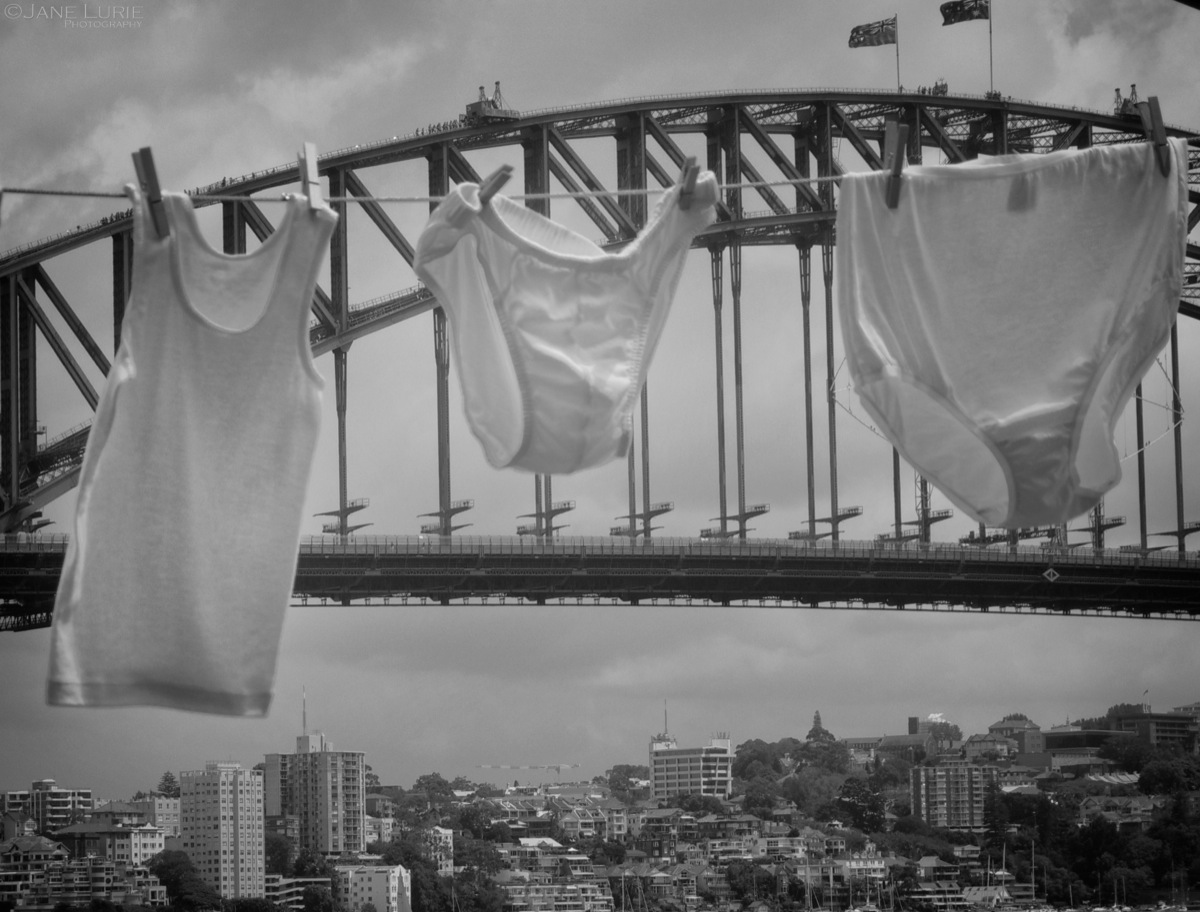 Laundry Day, Harbour Bridge
