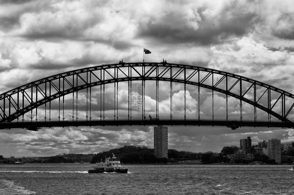 Ferry and Harbour Bridge