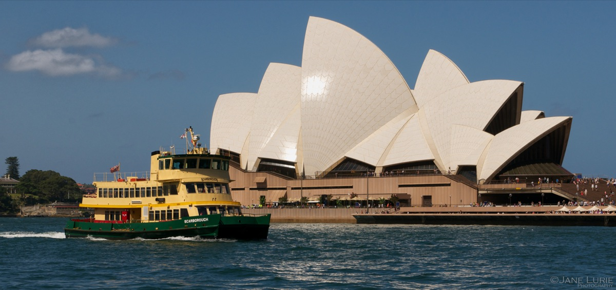 Passing By, Sydney Harbor