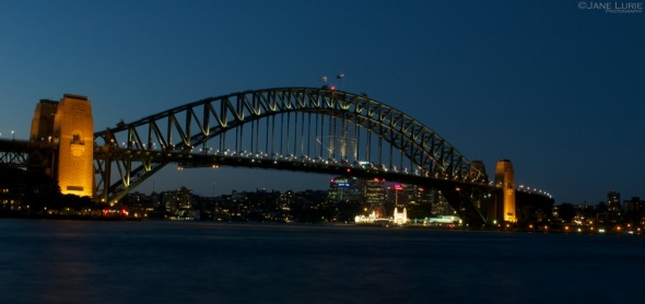 Twilight, Harbour Bridge