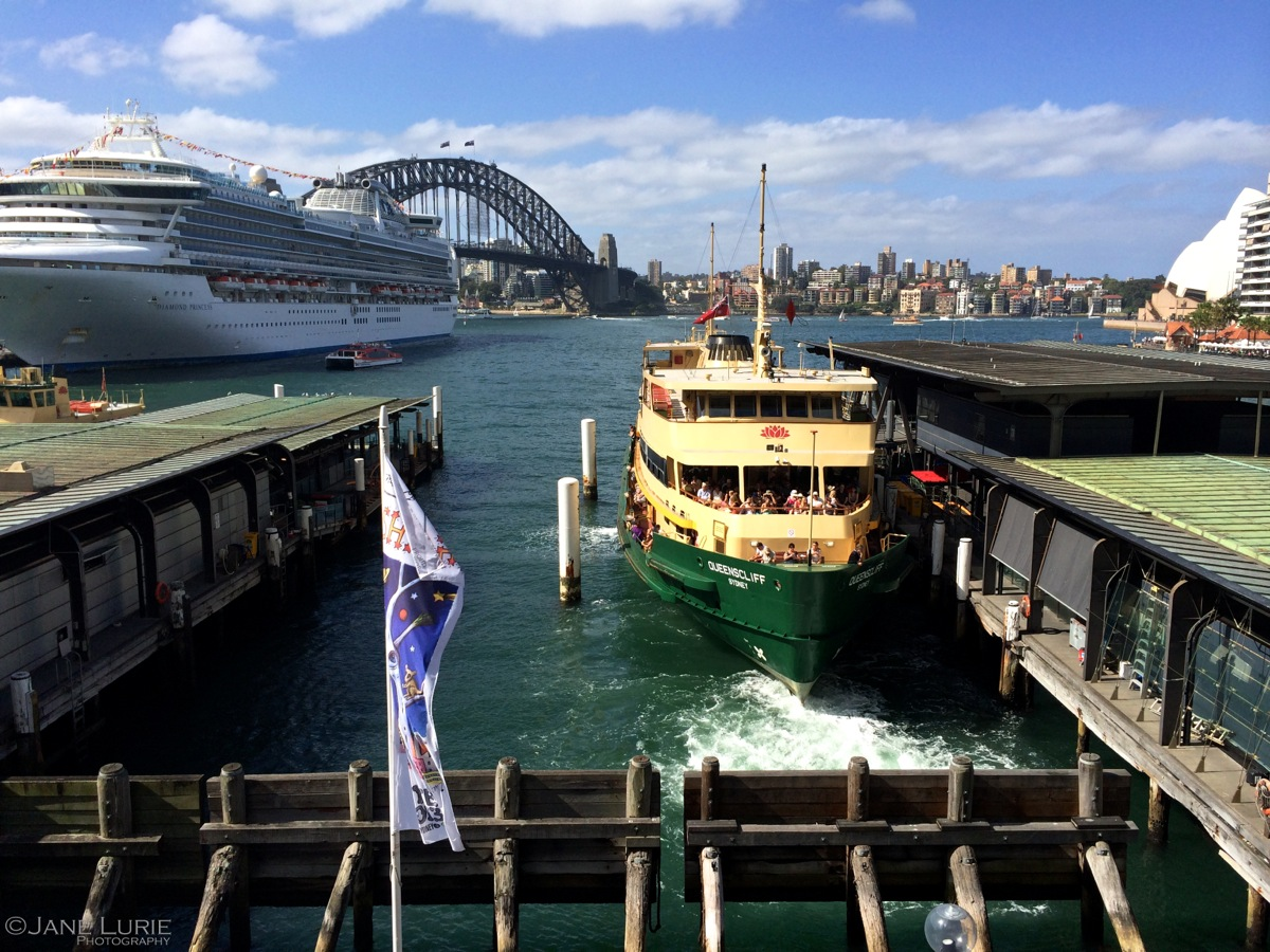 Docked, Circular Quay