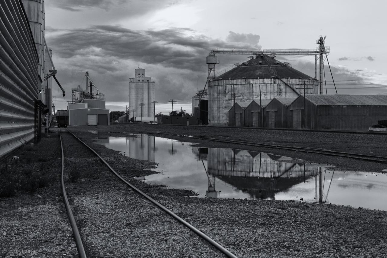 Grain Elevator, Silo, Agriculture, Architecture