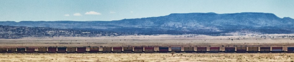 Train, Freight train, Railroad, Landscape