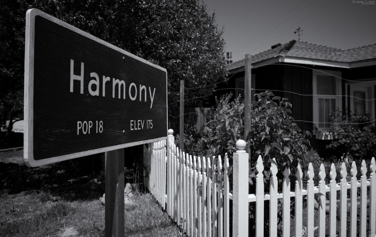 Harmony, California, Landscape,